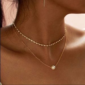 Arriving next week! Double Layer Crystal & Pearl